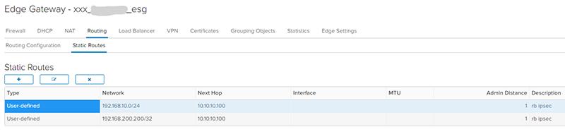 Пример настройки ROUTE-BASED IPSEC VPN